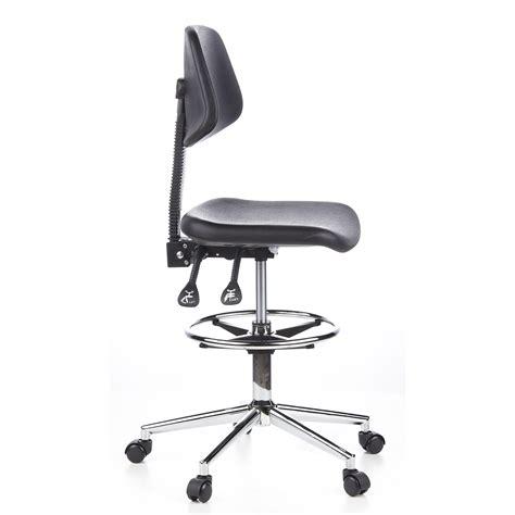 sgabello poggiapiedi sgabello da ufficio work 24 regolabile con poggiapiedi e