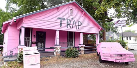 the trap house 2 chainz just turned his pink trap house into a free hiv testing facility