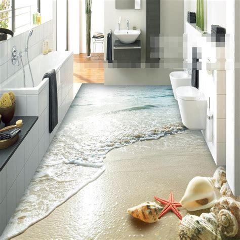 Bathtub Floor Stickers by Modern Sticker 3d Floor Bathroom Mural Hd