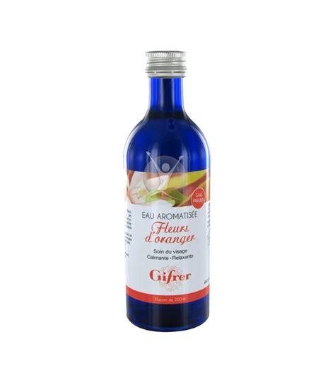 eau de fleur d oranger cuisine gifrer eau de fleur d oranger 200ml leparastore com