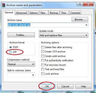 membuat file menjadi zip cara membuat file zip dengan software winzip sinau komputer