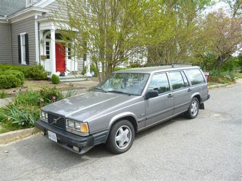 buy used 1986 volvo 740 gle wagon 4 door 2 3l in