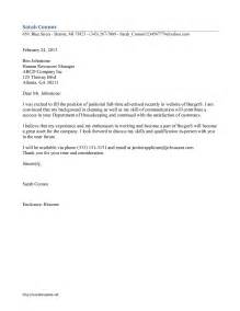 cover letter sle janitor study layout template