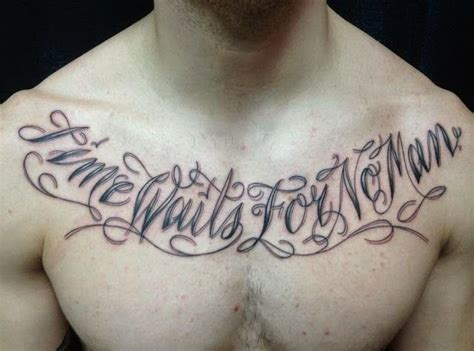 tattoo inspiration chest inspirational quotes chest tattoos for men http