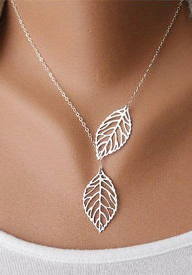 Leaf Necklace best 25 leaf necklace ideas on sterling