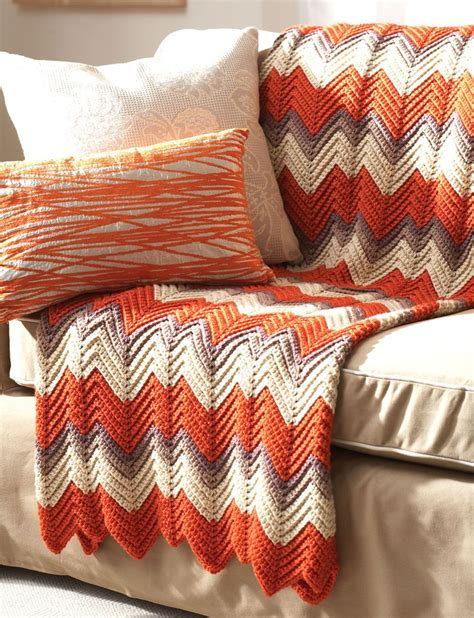 easy zig zag crochet afghan pattern pin by charrie on afghans ripple pattern pinterest