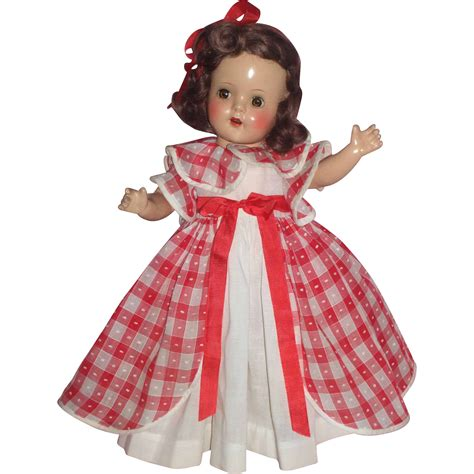 r b composition doll 15 quot r b composition doll in factory dress from