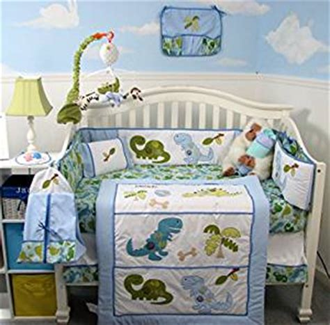 Dinosaur Crib Bedding Set by Soho Dinosaur Baby Crib Nursery Bedding Set
