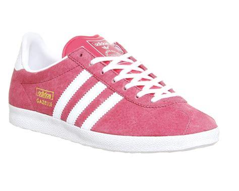 adidas gazelle pink adidas originals gazelle og suede sneakers in pink lyst