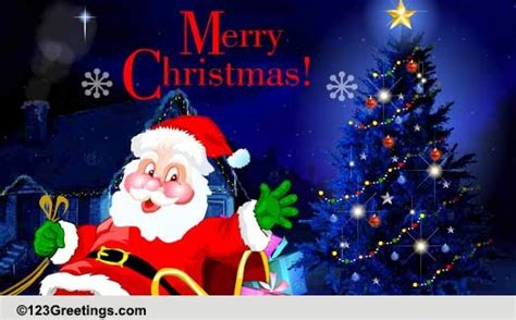merry christmas    christmas ecards greeting cards