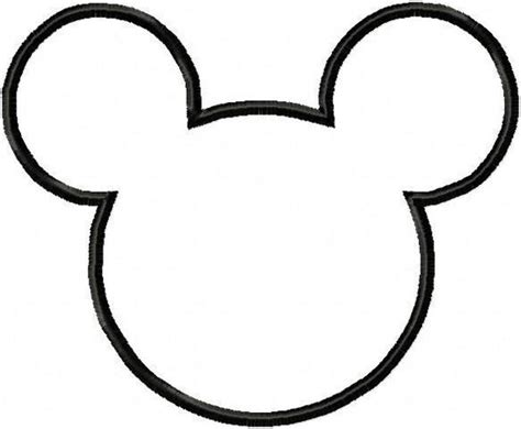 template of mickey mouse mickey mouse templates oh my in