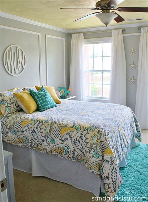 turquoise and yellow bedding yellow gray turquoise on pinterest