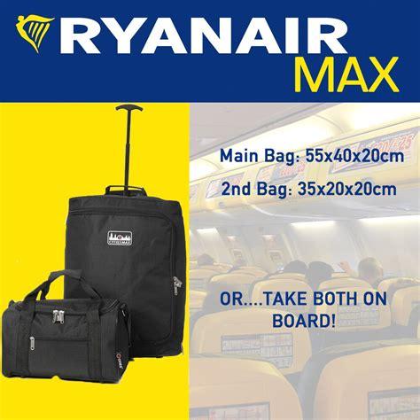 cabin baggage ryanair ryanair 55x40x20cm 35x20x20cm maximum luggage