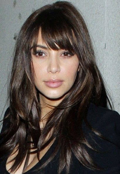 12 sexy hairstyles with side bangs fringe up your look 1000 images about celebrity hair on pinterest hair