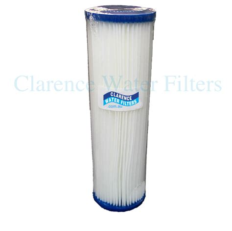 Sediment Filter Cartridge 10 Nano Filter clarence water filters australia 10 quot x 2 5 quot pleated washable water filter suits standard