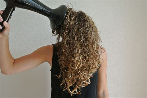 Hair Dryer Curly how to curly hair justcurly