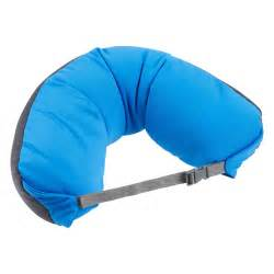 Travel Pillow by Kathmandu Adjustable Rest Neck Support Cushion