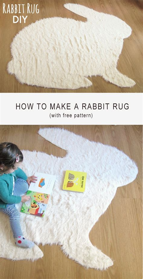 Rabbit Rug by Bunny Rug Rugs Ideas