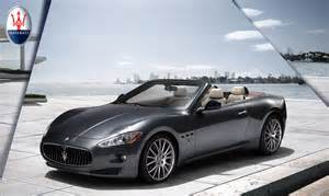 Maserati 4 Seater Convertible Maserati Granturismo Convertible Exclusive Four Seat