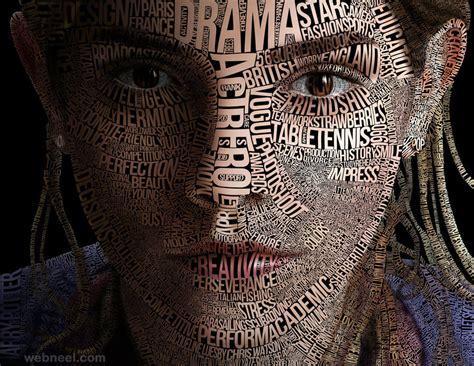 typography portrait typography portrait 20 image