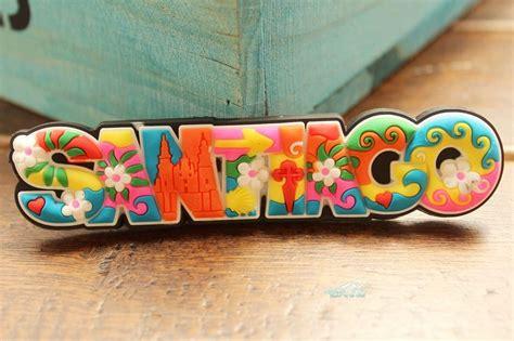 Souvenir Chilie Tempelan Magnet Santiago 3 chile santiago colorful letters tourist travel souvenir rubber fridge magnet worldwide gift idea