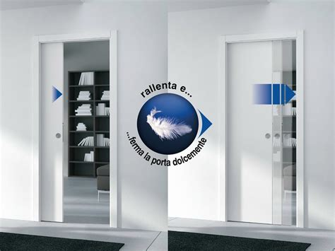 system for sliding door closure rallenty soft by eclisse