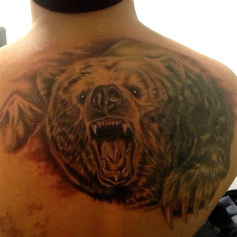 back tattoo bear bear tattoos and designs page 23