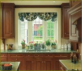 Window Treatments For Kitchen Window Over Sink - bay window curtains home design ideas