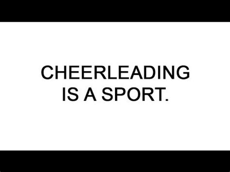 Cheerleading Is A Sport Essay by Persuasive Speech Cheerleading Is A Sport