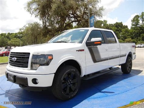 2014 Ford F150 Fx4 Supercrew 4x4 In Oxford White C63432