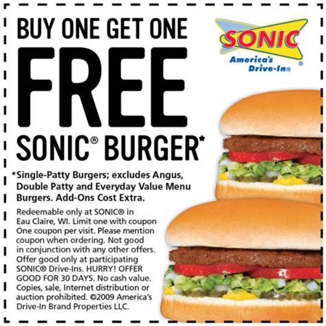 Sonic Gift Card Promotion Code - printable sonic coupons online printable coupons online