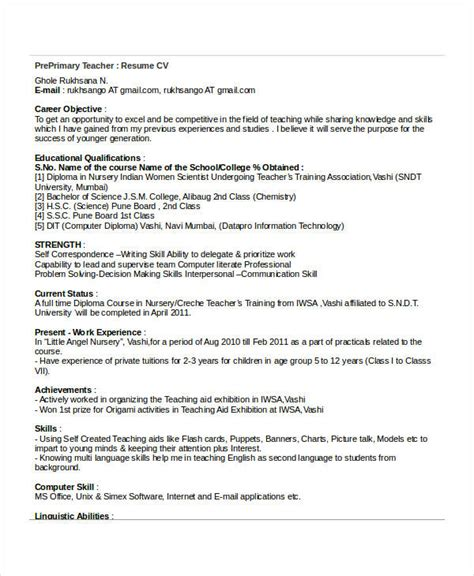 resume for primary teaching 28 images basic resumes 29