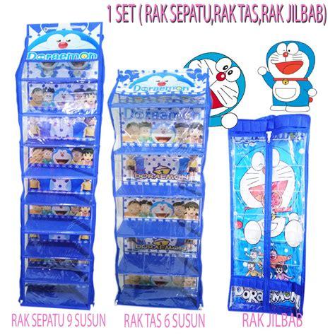 Set Tas C Nel Batik 3in1 free ongkir paket hemat 3in1 rak tas rak sepatu rak
