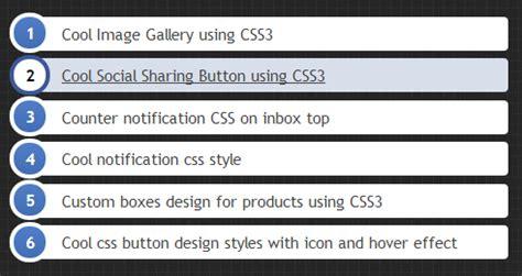 css layout list cool ol li design using css3 jquery 2 dotnet