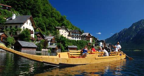 boat tour hallstatt daily trips with a quot fuhr quot punt across lake hallstatt