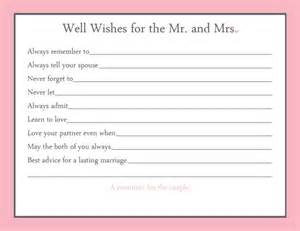 advice to the cards items similar to advice card bridal shower 20 printed on etsy