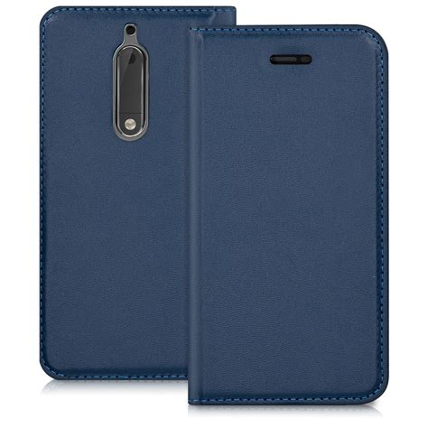 mobile cases and covers flip cover for nokia 5 leather slim back shell