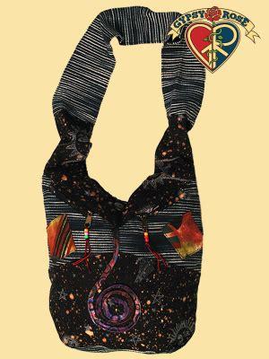 Patchwork Peddler - printed patchwork cotton shoulder bag