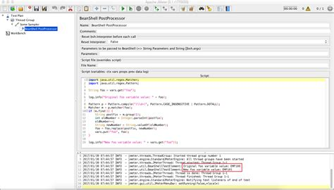pattern dotall java jmeter execute query get result increment it by 1 and