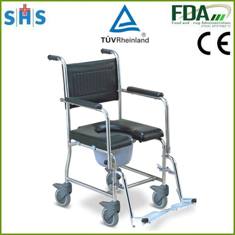 handicap toilet chair with wheels sh697s commode chair with wheels buy commode chair with