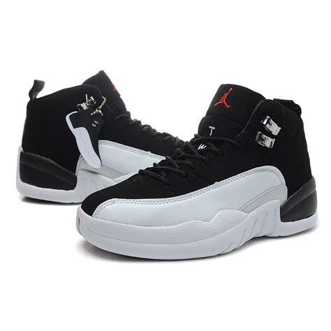 air shoes for air 12 air sole high black white jordans shoes for