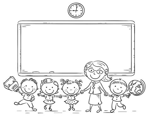 school coloring pages fun school themed