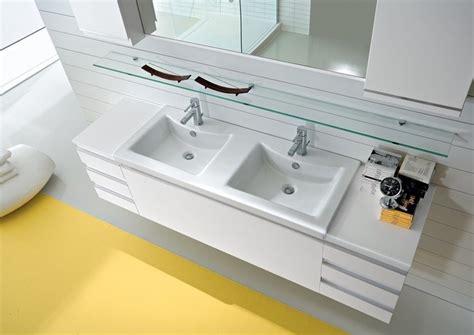 mobili bagno con due lavabi oltre 25 fantastiche idee su doppio lavabo da bagno su