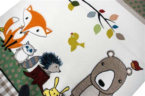 teppich waldtiere teppich traum teppich f 252 r kinderzimmer mit waldtieren