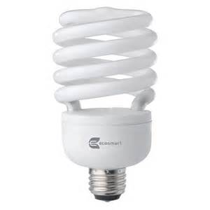 home depot recycle fluorescent 120w equivalent bright white 3500k spiral cfl light bulb