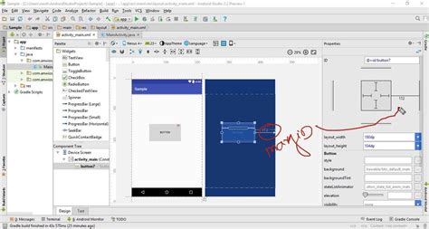 android studio r layout start with constraintlayout android studio youtube