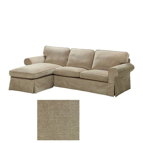 Chaise Lounge Couches by Ikea Ektorp Loveseat And Chaise Lounge Sofa Slipcover