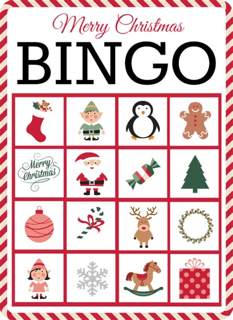 printable holiday bingo games christmas bingo free printable grace and good eats