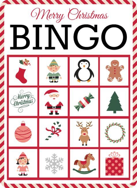 christmas bingo  bingo cards printable grace  good eats