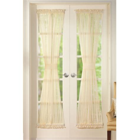 curtains etc sheer door panel curtains by collections etc